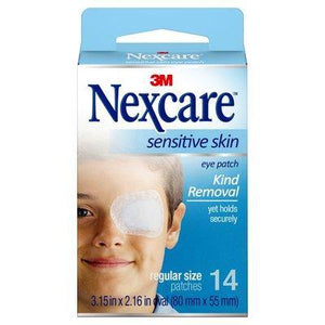 Nexcare Sensitive Skin Eye Patch Regular 14 Pack