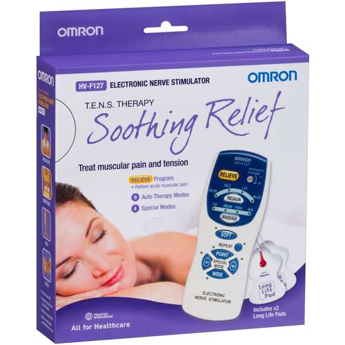 Omron HVF127 TENS Device (Back Pain relief)