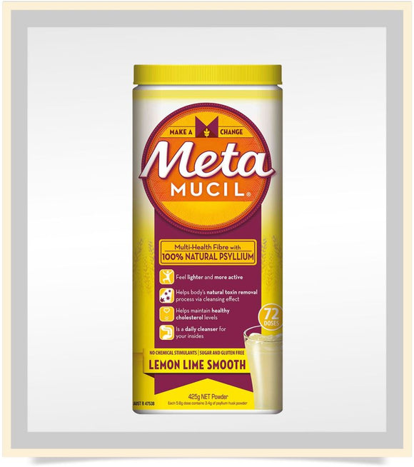 METAMUCIL® -  LEMON LIME SMOOTH FIBRE POWDER 425 gm
