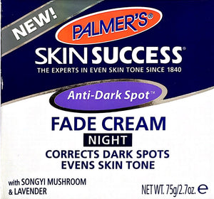 Palmers Skin Success Anti Dark Spot Fade Cream Night 75gm