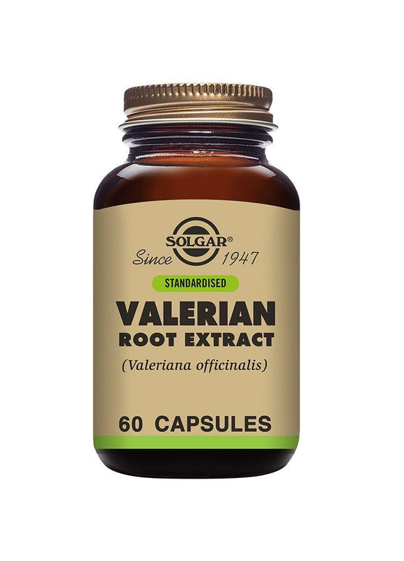 Solgar STANDARDIZED VALERIAN ROOT EXTRACT 60 capsules