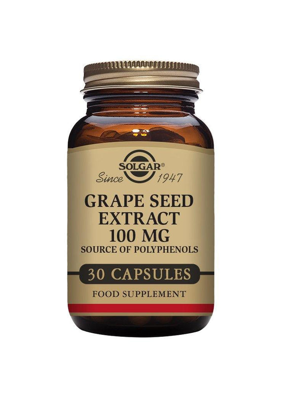 Solgar Grape Seed extract 100 mg vegetable capsules
