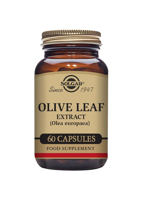 Solgar SFP OLIVE LEAF EXTRACT 60 capsules