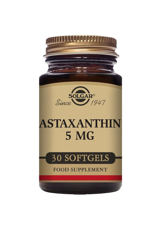 Solgar natural ASTAXANTHIN 5 mg 30 softgels