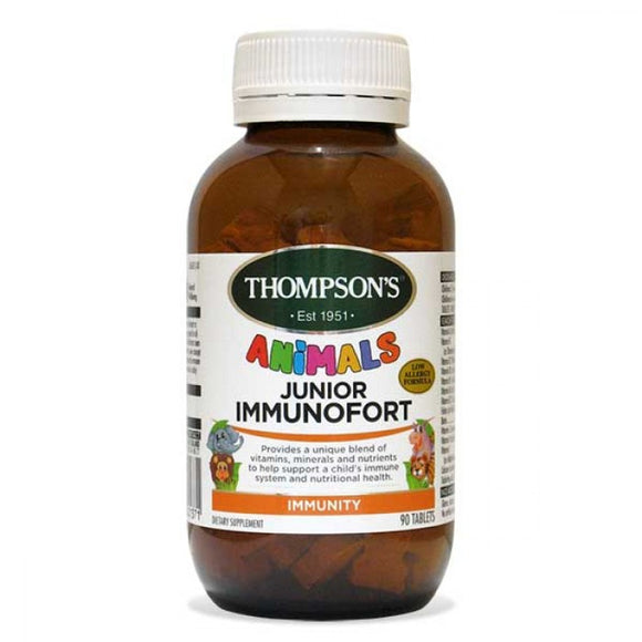 Thompsons Junior Immunofort Tablets 90 Tablets