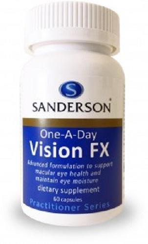 Sanderson One-A-Day Vision FX 60 Capsules