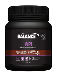 Balance WPI Chocolate flavour 750 gm - DominionRoadPharmacy