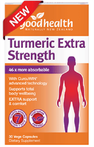 Good Health Turmeric Extra Strength 30 vege capsules - DominionRoadPharmacy