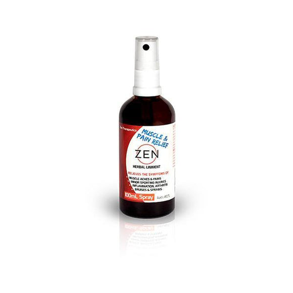 Zen Pain Relief Herbal Liniment 100ml Spray