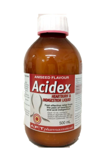 Acidex Indigestion Liquid  500ml
