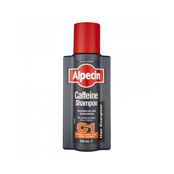 Alpecin Caffeine Shampoo 250 ml, hair growth - DominionRoadPharmacy
