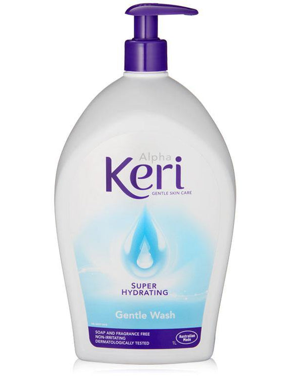 Alpha Keri Super Hydrating Gentle Wash 1 Litre - DominionRoadPharmacy