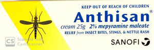 Anthisan cream 25 gm - DominionRoadPharmacy