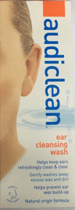 Audiclean Ear Cleansing Wash 60ml - DominionRoadPharmacy