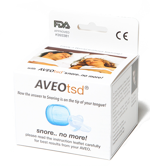 Aveo TSD Tongue Stabilizing (Anti Snoring) Device BRAND NEW * On sale* New Stock - DominionRoadPharmacy