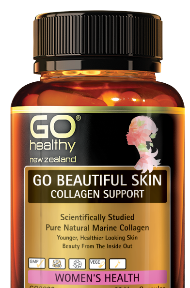 GO HEALTHY Beautiful Skin COLLAGEN SUPPORT 120 Cap