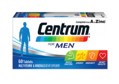 Centrum For Men 60 tablets - DominionRoadPharmacy