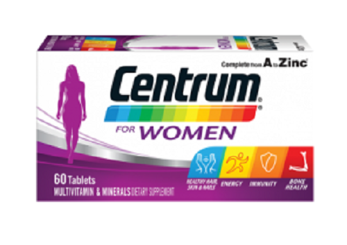 Centrum For Women 60 tablets - DominionRoadPharmacy