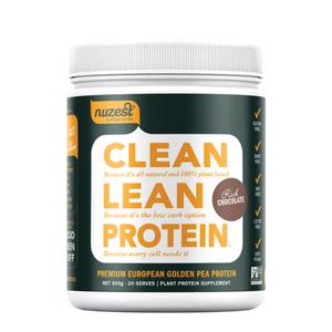 NUZEST Clean Lean Protein 500gm Rich Chocolate