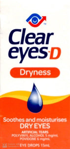 Clear Eyes Dryness Eye Drops 15ml - DominionRoadPharmacy