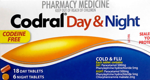 Codral Day & Night Codeine Free Tablets - 24 - DominionRoadPharmacy