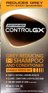 Control GX Grey Reducing 2 in 1 Shampoo and Conditioner 147 ml - DominionRoadPharmacy