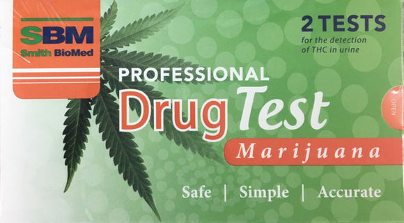 PROFESSIONAL DRUG TEST 2 TESTS Marijuana / Weed / Cannibas