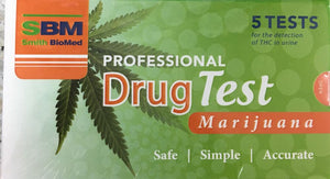 PROFESSIONAL DRUG TEST Marijuana / Weed / Cannibas
