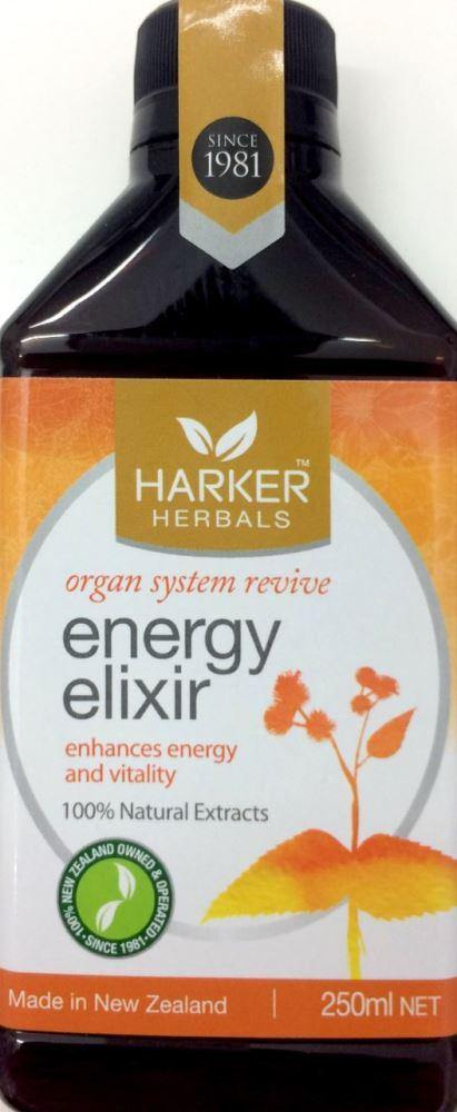 Malcolm Harker 979 Energy Elixir 250ml - DominionRoadPharmacy