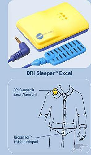 DriSleeper Excel Bed Wetting Alarm - DominionRoadPharmacy