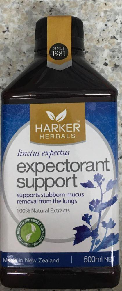 Malcolm Harker Expectorant Support 500ml - DominionRoadPharmacy