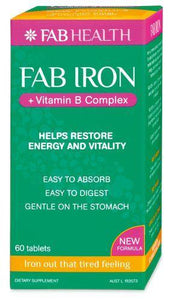 FAB IRON 60 tablets - DominionRoadPharmacy