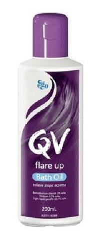 Ego Qv Flare up Bath Oil 200ml - DominionRoadPharmacy