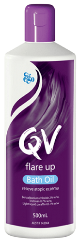Ego Qv Flare Up Bath Oil - DominionRoadPharmacy