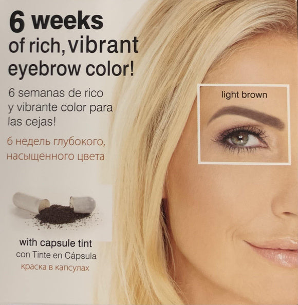 Godefroy Instant Eye Brow Tint Kit 6 Weeks Light Brown