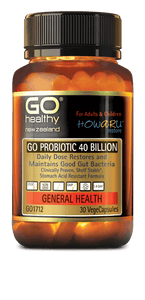 GO HEALTHY Go Probiotic 40 Billion 30 Caps - DominionRoadPharmacy