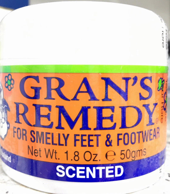 Grans Remedy for Smelly feet & footwear Scented 50 gm - DominionRoadPharmacy