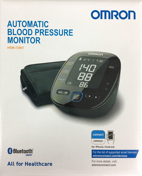 Omron Automatic Blood Pressure Monitor HEM7280T ** 5 Years Warranty**
