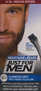 Just For Men Beard&Moustache Medium Brown Hair Colour - DominionRoadPharmacy