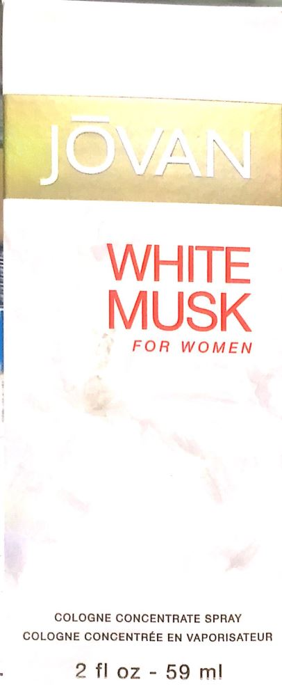 Jovan White Musk for Women 59ml - DominionRoadPharmacy