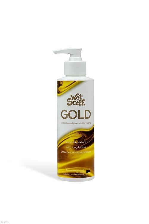 Wet Stuff Gold Water Based Personal Lubricant 550g