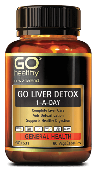 Go Healthy Go Liver Detox 1-A-Day 60 Capsules - DominionRoadPharmacy