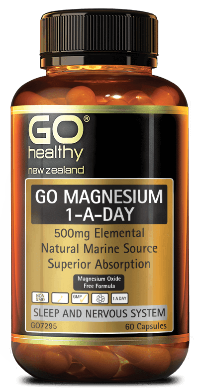 Go Healthy Go Magnesium 1-A-Day 60 Capsules - DominionRoadPharmacy