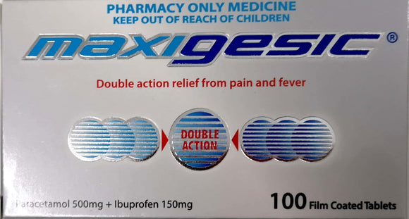 Maxigesic 100 Tablets