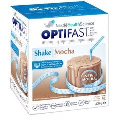 Optifast VLCD Mocha Shake 12 x 53 gm Sachets
