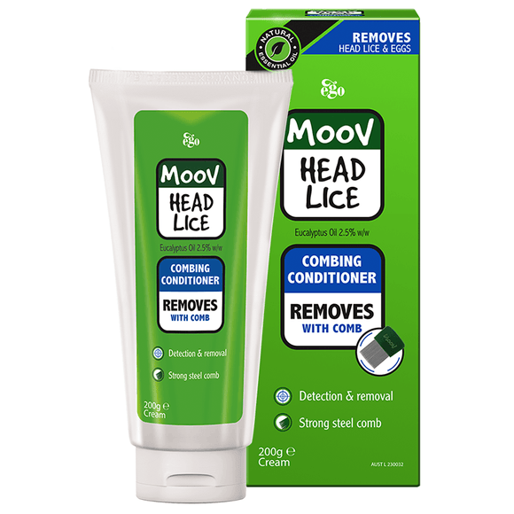 Ego Moov Head Lice Combing Conditioner 200ml - DominionRoadPharmacy