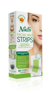Nads Hypoallergenic Facial Wax Strips 20