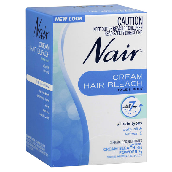 Nair™ Cream Hair Bleach for Face and Body