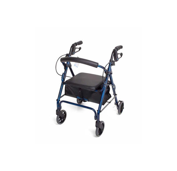 Mobilis narrow walking frame - blue