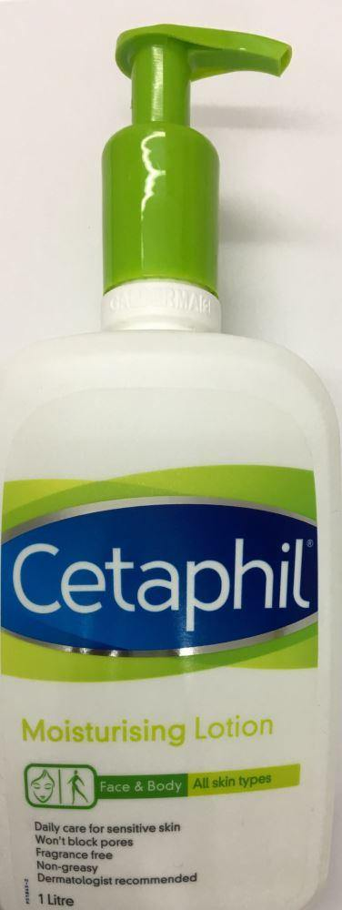 Cetaphil Moisturising Lotion (all skintypes)1Litre - DominionRoadPharmacy